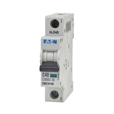 Eaton MEM 40A Single Pole 3 Phase MCB - Type C