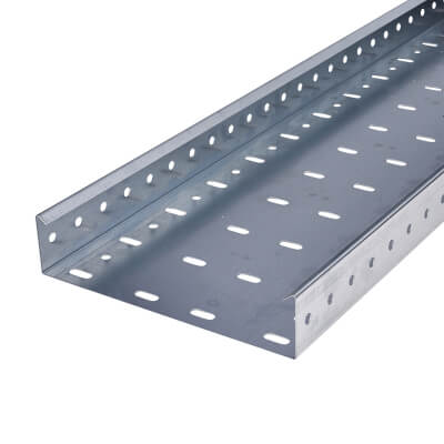 Heavy Duty Cable Tray - 225 x 3000mm - Galvanised)