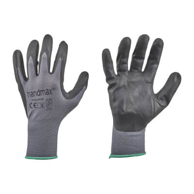 Nitrile Work Gloves - Size 10 - L)