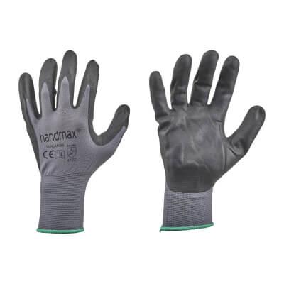Nitrile Work Gloves - Size 10 - L)