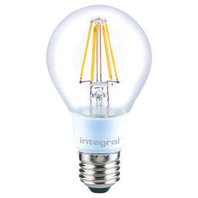 Integral LED 4.5W LED GLS Dimmable Filament Lamp - E27 - 2700K)