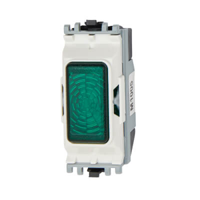 MK 200-250V Indicator Unit Module - Green
