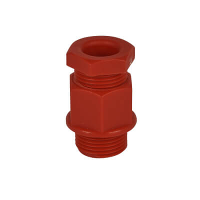 PVC TRS Gland - 20-20mm - Red)