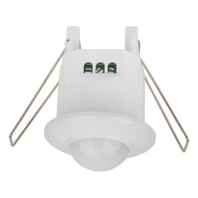 360° Recessed Mini PIR Sensor - White)