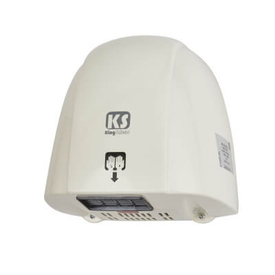 Greenbrook 1.8kW Automatic Hand Dryer - White)