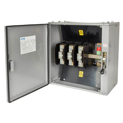 Eaton MEM 400A 415V TPN Fused Switch with HRC Fuses