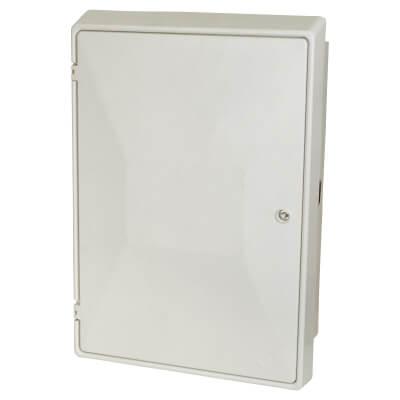 Fire Retardant Recessed Meter Box - 595 x 409 x 210mm