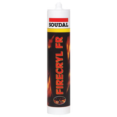 Soudal Firecryl FR - 310ml - White)