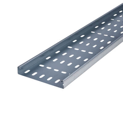 Medium Duty Cable Tray - 150 x 3000mm - Galvanised)