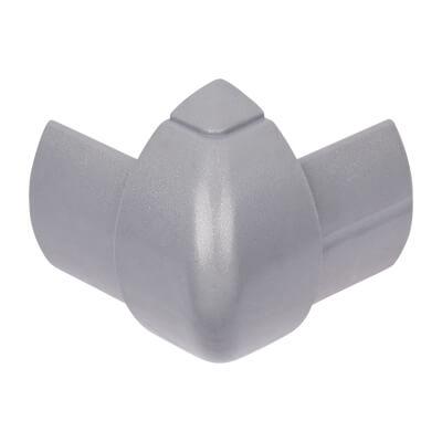 D-Line External Bend - 30 x 15mm - Aluminium