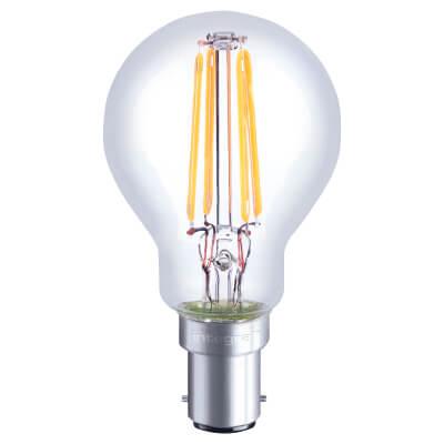 Integral LED 3.5W Mini Globe Dimmable Filament Lamp - B15 - 2700K)