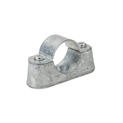 Steel Conduit Distance Saddles - 25mm - Galvanised