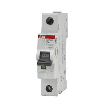 ABB 6A Single Pole 3 Phase MCB - Type C