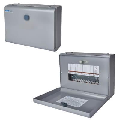 Eaton MEM 125A 7 Way Single Phase Distribution Board - Type A)
