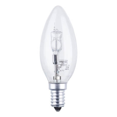 42W SES Halogen Candle Lamp - Warm White
