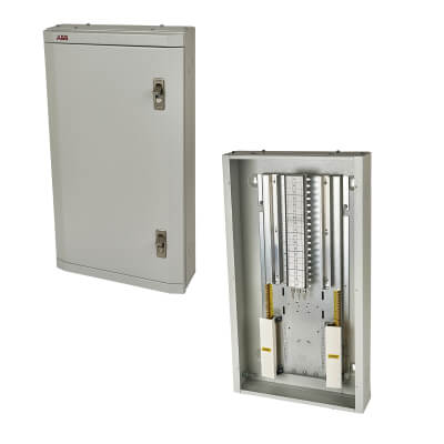 ABB 250A 12 Way 3 Phase TPN Distribution Board - Type B)