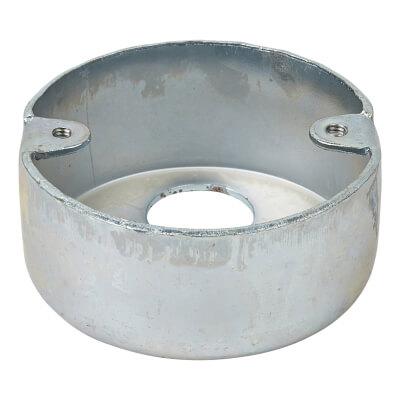 Steel Conduit Looping In Box - 3 Hole - 20mm - Galvanised