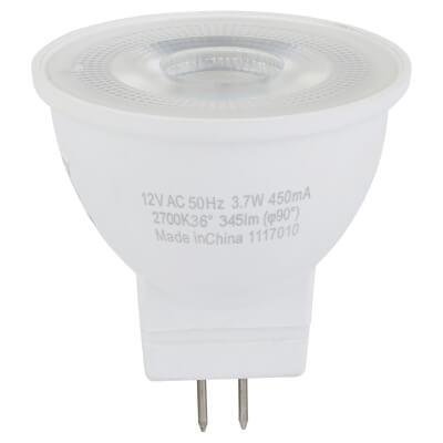 3.7W MR11 LED 12V GU4 35mm (equiv35W) - 2700K)