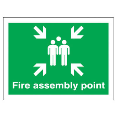 Fire Assembly Point - Fire Assembly Point Group - 450 x 600mm