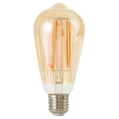 6W LED Vintage Lamp - E27 - Tinted)