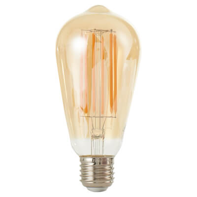 6W LED Vintage Lamp - E27 - Tinted)