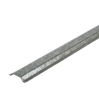 Metal Channel - 13mm x 2m - Galvanised)