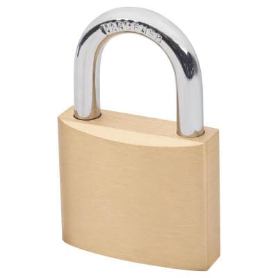 Solid Brass Padlock - 40mm - Keyed Alike Key No 2