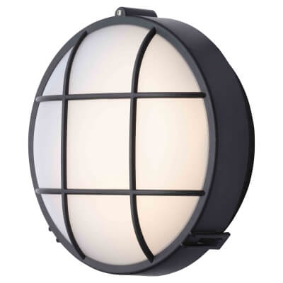 Stanley 10W Round Plastic LED Bulkhead - 4000K)