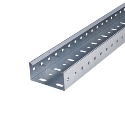 Heavy Duty Cable Tray - 100 x 3000mm - Galvanised )
