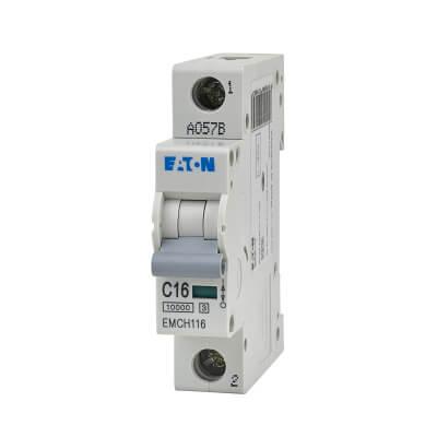 Eaton MEM 16A Single Pole 3 Phase MCB - Type C)