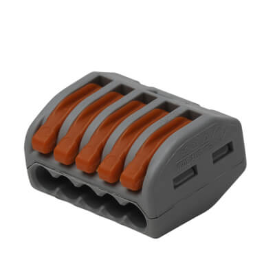 Wago 5W Lever Connector - Pack 10)