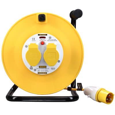 BG 16A 110V Cable Reel - 2 Socket)