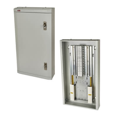 ABB 16 Way 3 Phase TPN Distribution Board)
