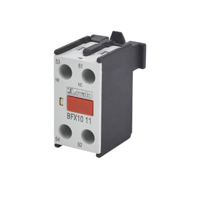 Lovato 10A Auxiliary Contact - 1 Normally Open and 1 Normally Closed)
