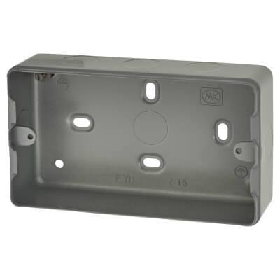 MK 3-4 Gang Grid Module Surface Back Box)