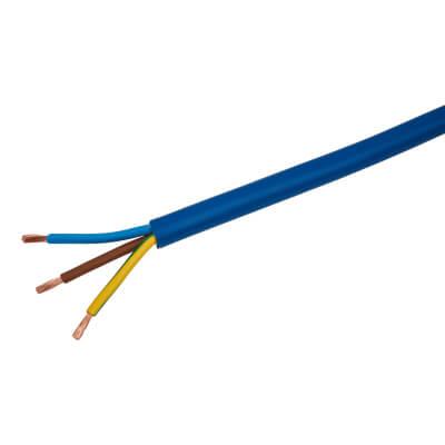3183AG 3 Core Arctic Grade Cable - 4.0mm² x 50m - Blue)