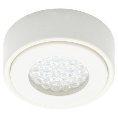 Forum Laghetto 1.5W Circular LED Under Cabinet Light - White)