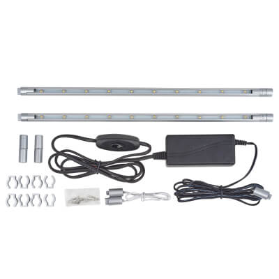 LED Striplight Kit - 300mm - White