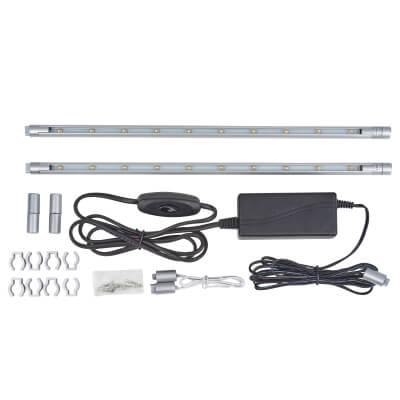 LED Striplight Kit - 300mm - White)