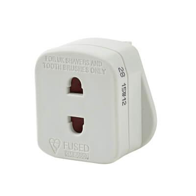 13A Plug Adaptor Shaver Outlet