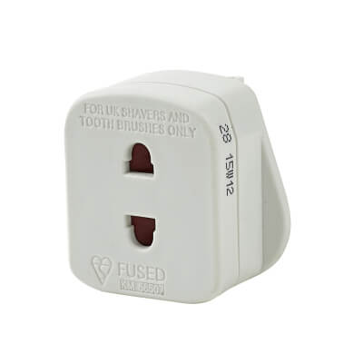 13A Plug Adaptor Shaver Outlet