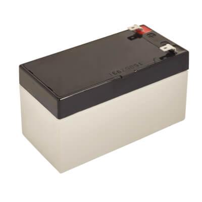 2.1 AmpH 12V DC Battery)
