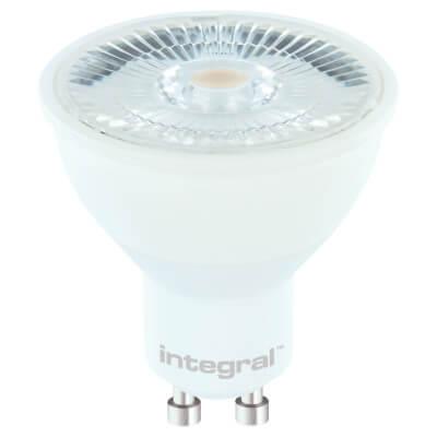 Integral LED 7W GU10 COB PAR16 Dimmable Spotlight Lamp - 2700K)