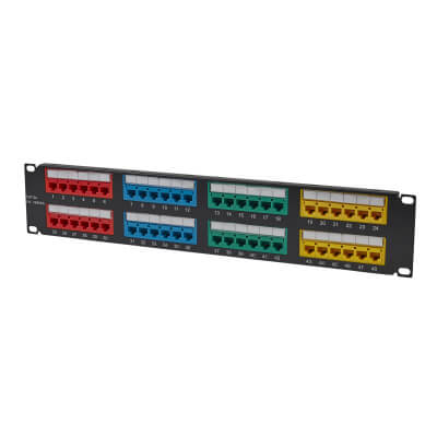 Cat 5 Patch Panel - 48 Way