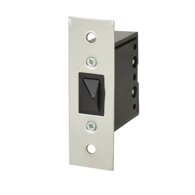 Push to Break Door Switch - Chrome)