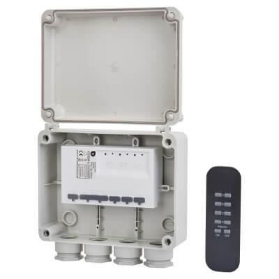 Smartwares 3G Remote Lighting Kit - White)