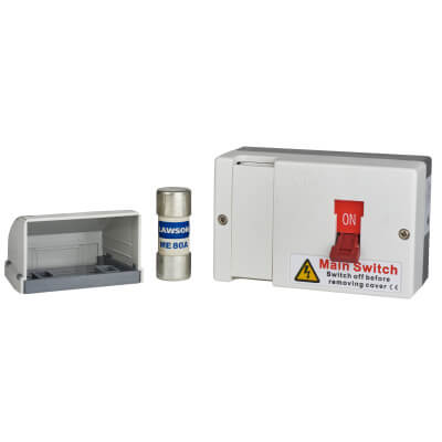 switch fuses 2 way garage units consumer units circuit protection rh electricaldirect co uk Double Pole Switch Fused Fused Power Switch System
