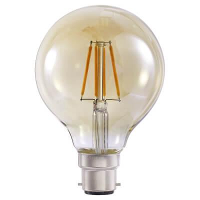 4W LED Vintage Globe - BC - Tinted)