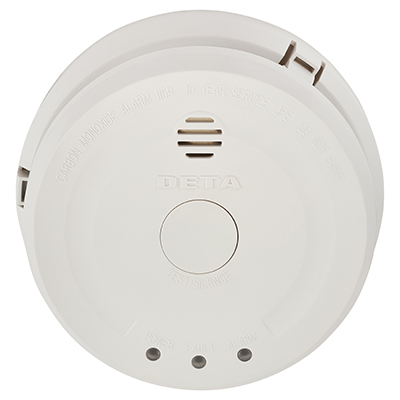 Deta Mains CO Carbon Monoxide Detector - DE1121