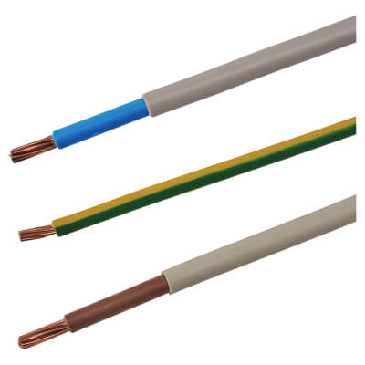 6181Y Double Insulated Meter Tails Pack - 16mm² x 1m)